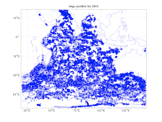 How To Download And Map Argo Profiles For An Ocean Using Matlab Codes By Guillaume Maze